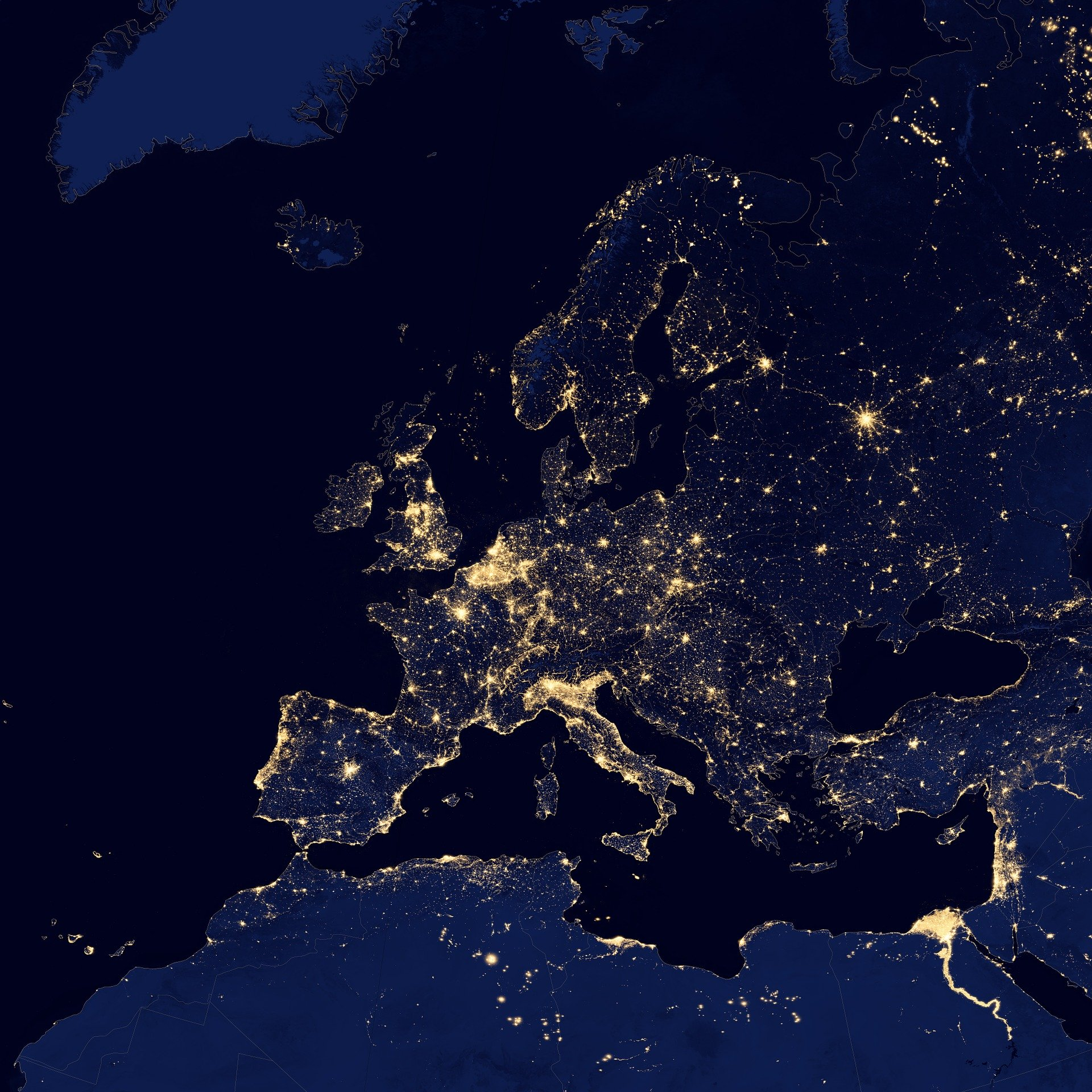 """Webinar de introdução aos Dados de Luzes Noturnas da NASA """"Black Marble"""""""