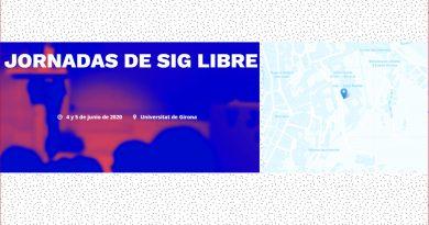 Jornadas de SIG libre – Universitat de Girona