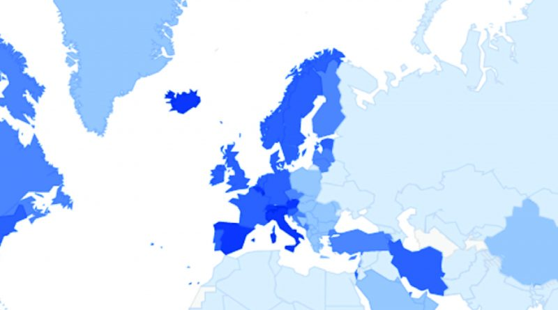 Mapa do coronavírus (COVID-19) – Google