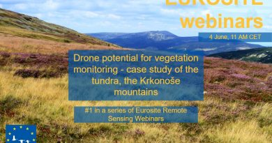 Webinar – Drone potential for vegetation monitoring – a case study of the tundra, the Krkonoše mountains""