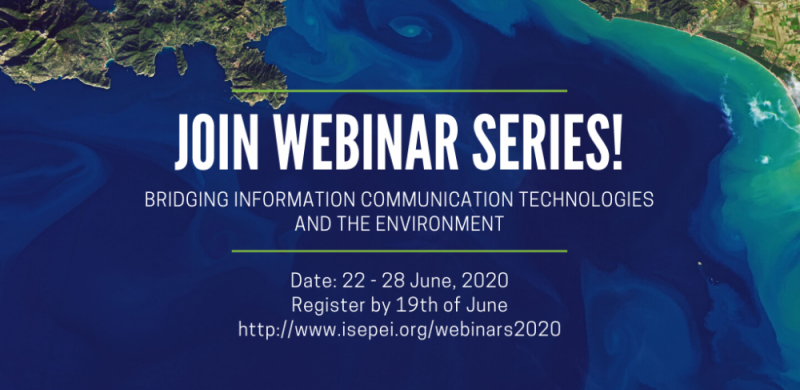 """ISEPEI Project webinars – """"Bridging ICTs and the Environment"""""""