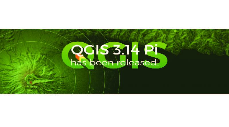Lançamento do QGIS Pi (3.14)