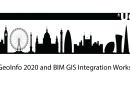 3D GeoInfo 2020 and BIM GIS Integration Workshop – Conferência Virtual