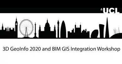 3D GeoInfo 2020 and BIM GIS Integration Workshop – Conferência Virtual