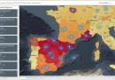 Mapa interactivo da OMS mostra a evolução da Covid 19 na Europa