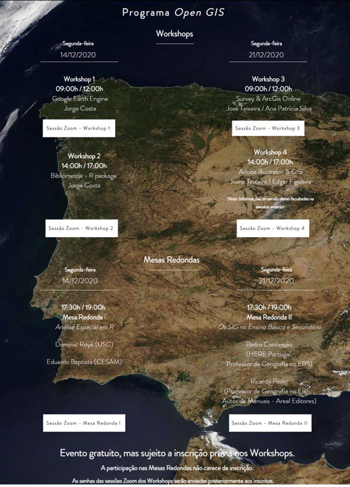 Open GIS Days - Programa