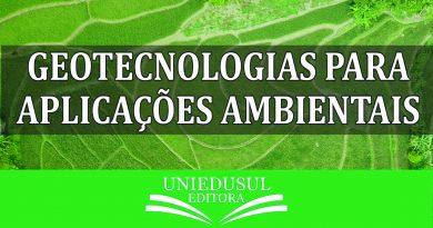 Livro – Geotecnologias Para Aplicações Ambientais