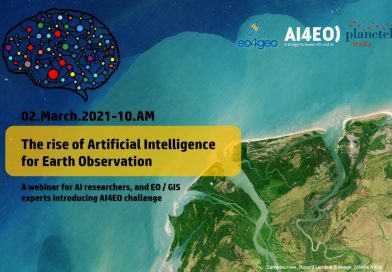 The rise of Artificial Intelligence for Earth Observation – Webinar