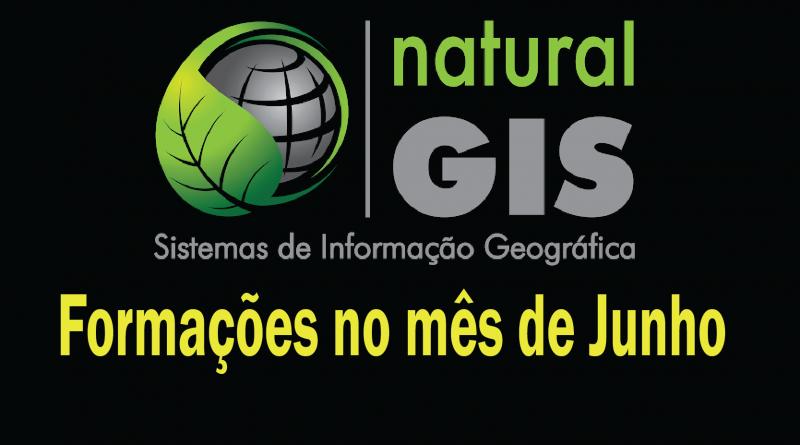 Cursos de Formação na NaturalGIS durante o mês de junho